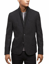 KENNETH COLE New York Slim Fit Black Combo Wool Blend Sportcoat X-Large XL $249