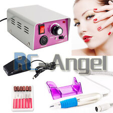 25000RPM Electric Pedicure Manicure Nail File Drill Machine Tool Set Bits Kit