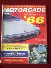 vtg MOTORCADE AUTO CAR MAGAZINE SEPTEMBER 1965 SPECIAL ISSUE 1966 REPORTS 12