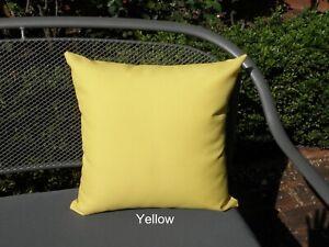 Outdoor Plain Yellow Colour Coordinate Cushion Covers 40cm Au Made