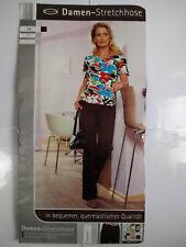 Damen Stretchhose Stretch Hose Gr. 38 Cecilia Classics Sommerhose Baumwolle NEU