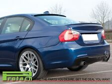 2005-2011 BMW E90 328i 335i 4Dr Painted M3 Look Trunk Lip + AC Type Roof Spoiler
