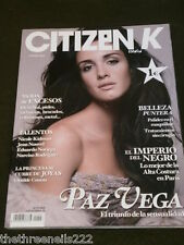 CITIZEN K - SPANISH EDIT - OCT 2005 - PAZ VEGA