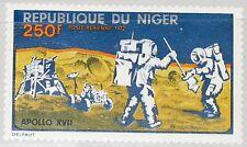 Níger 1972 355 c203 Apollo 17 us Moon misión alunizaje Space espacio mnh