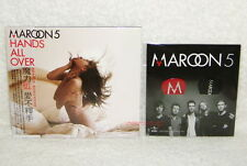 Maroon 5 Hands All Over Taiwan CD +2 Guitar Pick w/OBI