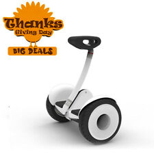 White Ninebot S by Segway Smart Transporter Electric Scooter