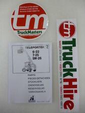Sanderson Teleporter Forklift 622-725-5M26 Parts Manual (PHOTOCOPY)