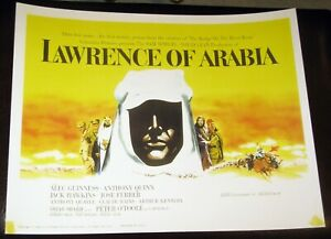 "1963 Reprinted ""Lawrence of Arabia"" Set of 8 USA Lobby Cards, 11"" x 14"" - Mint!"
