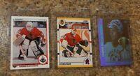 (3) 1990-91 Ed Belfour Upper Deck Score 1991-92 UD Hologram Rookie card lot RC