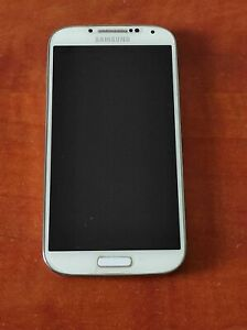 Samsung I9500 Galaxy S4 Unlocked White 13.0 MP 2GB RAM, Used No Battery Included