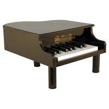 Schoenhut 18 Key Black Mini Grand Piano