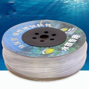 Luftschlauch Aquariumschlauch Sauerstoffschlauch für Aquarium Teich 4/6 mm 100 m
