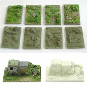 N Scale Allotment or Gardens (NS4 & NS10)