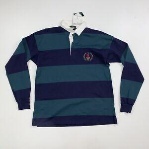 NEW Vintage Atlanta 1996 Olympics Polo Rugby Shirt  Medium