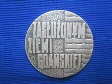 Medal Zasluzonym Ziemi Gdanskiej