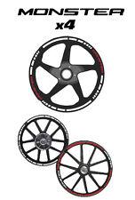 DUCATI MONSTER-vinilo rueda-pegatinas rueda-sticker wheel-MONSTER MOTO