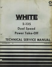 White 2 135 Tractors Dual Speed Power Take Off Technical Manual