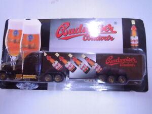 """Grell Werbemodell:  American Truck Sattelzug """"Budweiser"""" - ungeöffnet"""