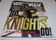 Vegas Golden Knights Las Vegas Weekly magazine May 24-30 2018 Stanley Finals
