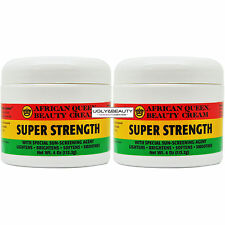 "African Queen Beauty Cream Super Strength 4 Oz / 113.2 g ""Pack of 2"""