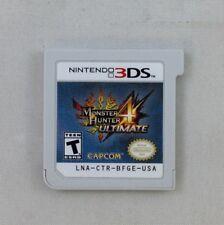 Monster Hunter 4 Ultimate for Nintendo 3DS (Game Only) (5975-US21)