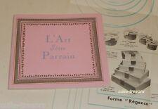 Ancien Dépliant publicitaire DRAGEE MARTIAL : L'ART D'ETRE PARRAIN