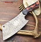 Cutlery Salvation Custom Hand Made Damascus Blade Chef Chopper Knife