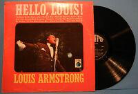 LOUIS ARMSTRONG HELLO LOUIS! LP MONO 1965 ORIGINAL PRESS GREAT COND! VG+/VG!!