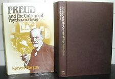 SIGMUND FREUD & the CULTURE of PSYCHOANALYSIS Steven Marcus HARDBACK + DJ 1st Ed