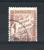 """FRANCE STAMP TIMBRE TAXE N° 25 """" TYPE DUVAL 1F MARRON """" OBLITERE TB  D024"""