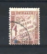 "FRANCE STAMP TIMBRE TAXE N° 25 "" TYPE DUVAL 1F MARRON "" OBLITERE TB  D024"