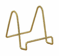 Tripar  7 in. Brass  Twisted Wire Display Stand