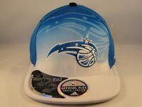 Orlando Magic NBA Adidas Flex Hat Draft Cap Size S/M Blue White