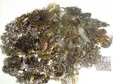 MEGA METAL MIX - NEW SIZE! Filigree & Beads Lot Jewelry Making Supplies 1/2 lb+