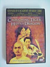 Crouching Tiger, Hidden Dragon (Dvd, 2001, Special Edition) Widescreen Pg-13