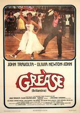 Original Vintage Italian Movie Poster Grease 1978
