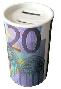 Spardose mit Zählwerk Münzzähler Sparschwein Digital Sparbüchse 20 Euro Schein