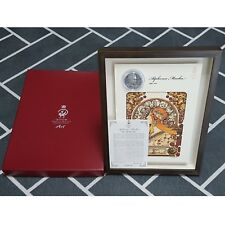 Alphonse Mucha Medal & Engraved Printings  by Korea Mint(KOMSCO)