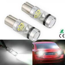 2x 382 1156 BA15S 200W LED Weiß Standlicht Bremslicht Rücklicht NEU