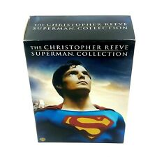 The Christopher Reeve Superman Collection (DVD, 2006, 8-Disc Set)