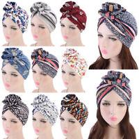 Womens Ladies Hair Loss Head Cotton Scarf Cancer Hat Muslim Cap Turban Wraps