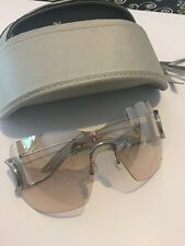 Vintage DIOR sunglasses Clear Lenses And Silver Accents