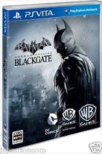 Used PS Vita Batman: Arkham Begins Black Gate  SONY PLAYSTATION JAPANESE IMPORT