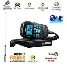 UNIDEN UH8060S UHF CB RADIO 5 watt  & GME AE4018K1 6.6dBi Heavy Duty Antenna