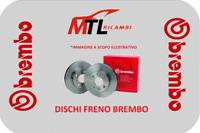2 DISCHI FRENO ANTERIORI BREMBO TOYOTA YARIS SCP1_,NLP1_,NCP1_ DAL 1999 AL 2005