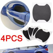 4pcs Sale Carbon Style Door Handle Bowl Cup Sticker Protector for Subaru WRX/STI