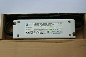 Longbright LED panel & lamp driver in 600mA out max 42w 950Ma 30-42V DC UK STOCK