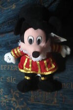 "MICKEY MOUSE DISNEY STORE UK BEEFEATER 9"" TOY BEANIE TAGS XMAS BIRTHDAY GIFT"
