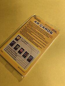 Nintendo 3DS AR Cards (Broken Sealed Pack)