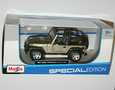 Maisto - JEEP WRANGLER RUBICON - Model Scale 1:27